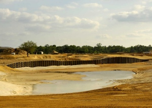 Reunion Resort's Nicklaus Course under construction.