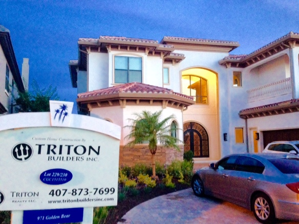 Triton Model Home Golden Bear Reunion Resort Exterior