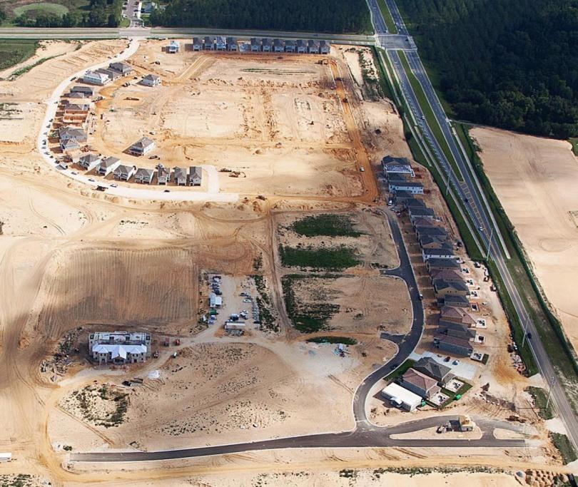 Encore Club Aerial Image