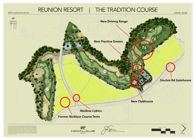 New PGA Nicklaus Layout at Reunion Resort