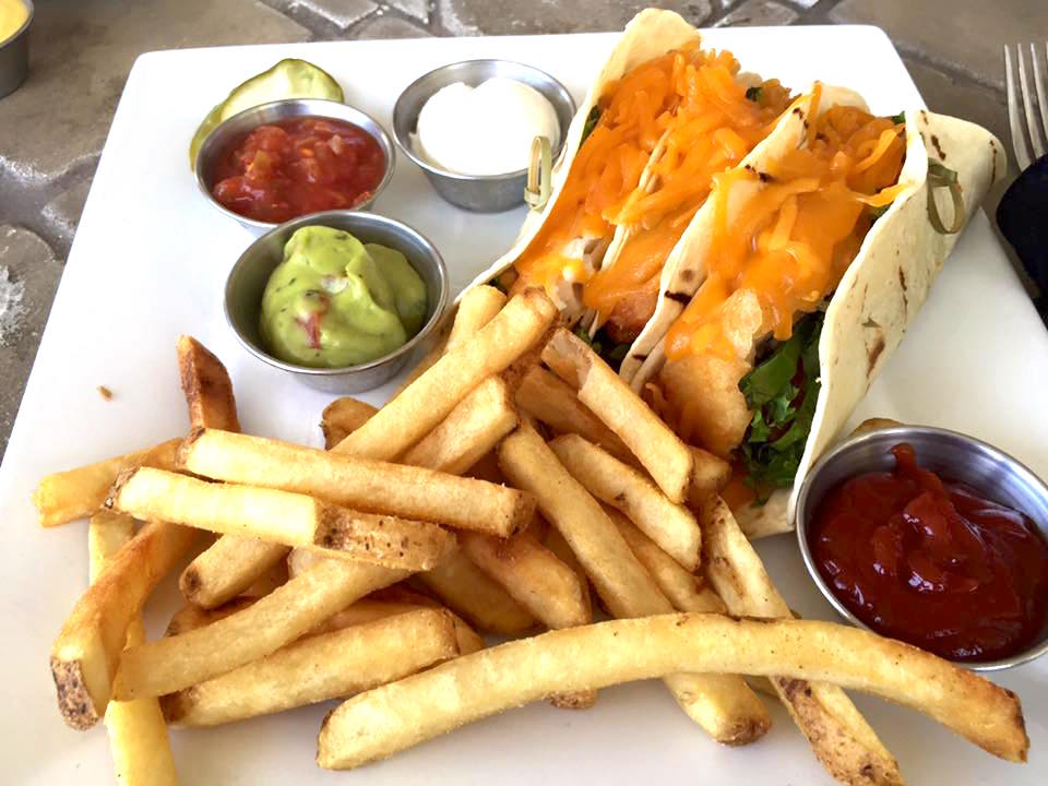 Reunion Clubhouse Fish Tacos