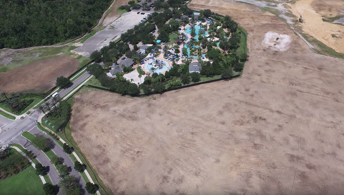 Reunion Resort Water Park Construction