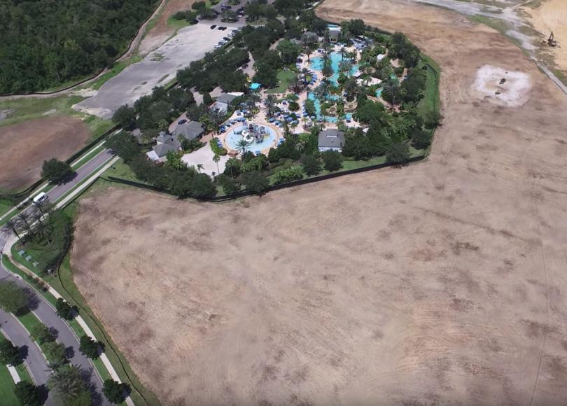 Reunion Resort Water Park Construction