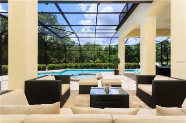 Screened Pool Deck in Reunion Resort