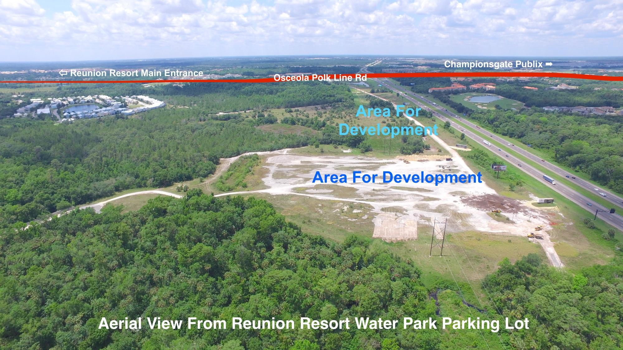 Reunion Village Land Development Aerial